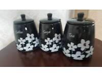 Tea, Coffee & Sugar Jars