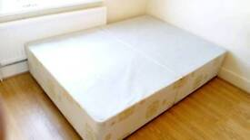 Double divan bed base in great condition and clean