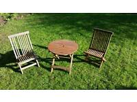 Kids garden table/chairs