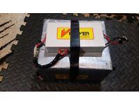 V Power 20 ah LiFePo4 lithium e-bike/electric bicycle battery - good working order for sale  Northampton, Northamptonshire