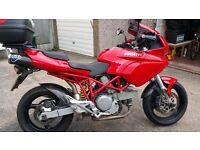 Ducati multistrada red 620cc