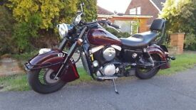 KAWASAKI 1500 DRIFTER great example with longshot exhaust, induction upgrade. comes with screen