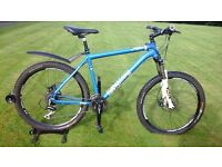 2014 MENS VOODOO BANTU HYDRAULIC DISC SPEC MOUNTAIN BIKE * FULLY SERVICED / SUPER CONDITION *