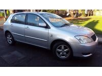 Toyota Corolla 1.6 VVT-i T3 5dr Only ****Only 77000 miles****