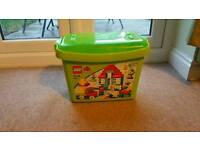 Excellent condition Large box of lego duplo