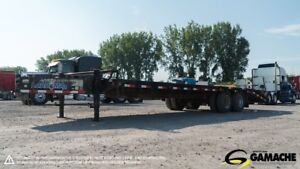 2014 LOAD TRAIL 23' LOW PRO PINTLE FLAT BED (35')