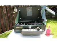 COLEMAN DUEL FUEL CAMPING STOVE