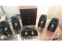 Logitech 5.1 surround sound system