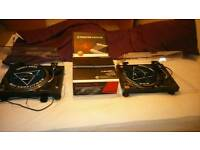 Technic 1210s with pioneer djm250 mixer