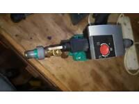 Sentral heating pump