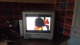 "Sony Digital Set-top Receiver VTX-D800U and Sony Trinitron 14"" TV KV-14CT1U in good clean condition"