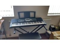 Keyboard and Stool - £100