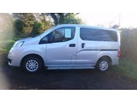 2010 Nissan NV200 7 seater