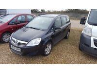 2009 (58) Vauxhall Zafira 1.6 Petrol only 75k