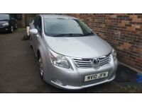 2010 Toyota avensis 2.0 D4D SPARES OR REPAIR starts/drives UNRECORDED