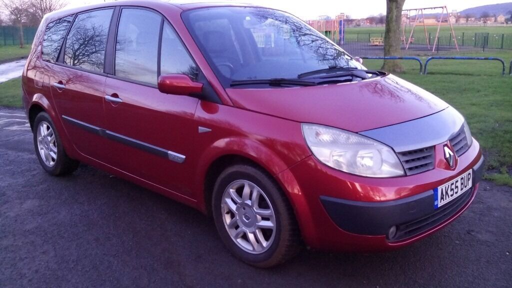 renault g scenic megane 1 9 dci maxim model edition 2005 55 reg 7 seater fshistory low mileage. Black Bedroom Furniture Sets. Home Design Ideas