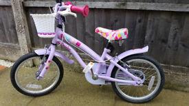"""Children's 16"""" wheel bike- very good condition"""