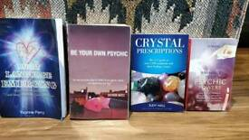 Book bundle for psychics and crystal fans
