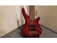 Shine 6 String Bass Guitar - Collection Only.