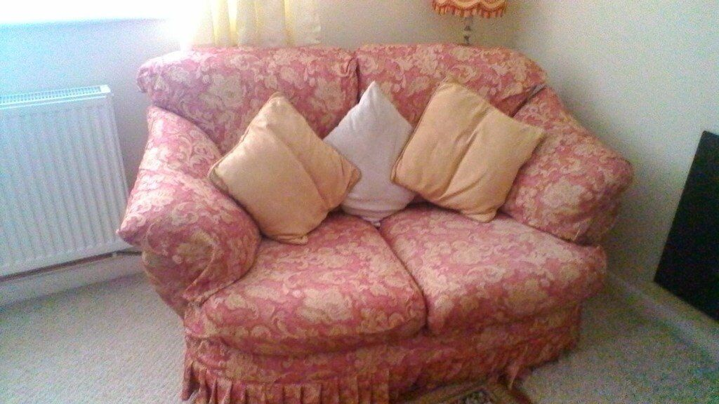 2 Two seater sofas & 1 Chair