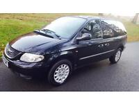 2004 CHRYSLER VOYAGER CRD 7 SEATER 1 YEAR MOT
