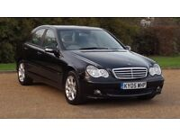 MERC C180 KOMP 1.8 AUTOMATIC CLASSIC SE 05 PLATE 111000 MILES WITH A FULL SERVICE HISTORY AC ALLOYS
