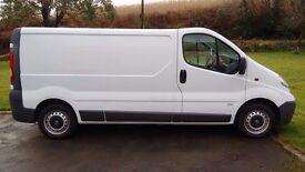 Vauxhall Vivaro 2.0 CDTI, 2900 LWB - Great, Low Mileage, Tidy Van. No VAT.