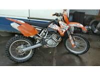 Ktm 250 exc OFFROAD 2005