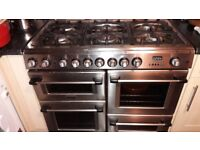 .Cannon CH10450GF 100cm Dual Fuel Range Cooker and Gas Hob