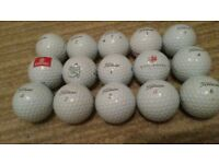 15 Pro vs golf balls in excellent condition some with logos, bargin £10!