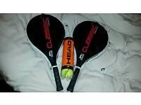 Tennis raquets brand new