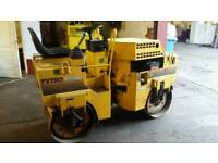 Benford Terex Vibrating Double Twin Drum Bomag Roller