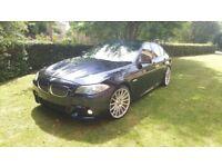 BMW 520D M-SPORT AUTO 8+1 BIG SCREEN SAT NAV 1 OWNER TOP SPEC STUNNING IMMACULATE CAR PX WELCOME