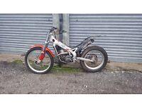 Beta rev 3 250 trials bike 2002