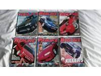 Redline magazines bundle 1
