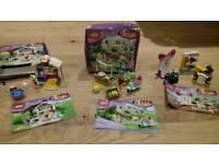 Lego friends 3x mini sets