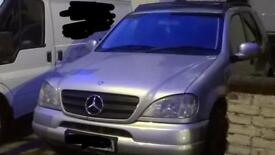 Mercedes ml automatic jeep
