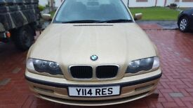 Bmw 320i se in gold . 1750 ovno