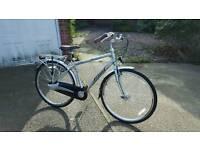 Raleigh elan 3 speed mens bike in new condition light aluminium frame