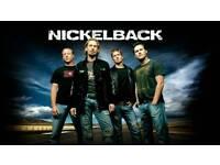 2x nickleback tickets