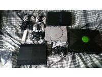 faulty consoles and controllers (not working ) no leads