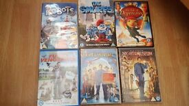 Large bag of mainly childrens dvds (around 40)