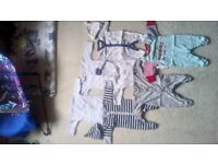 Bundle of boys clothes - size newborn