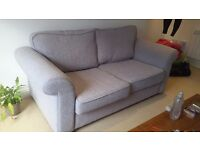 Light gray, excellent condition sofa bed from clean non-smoking home. £150