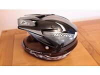 WULF SPORT FULL FACE CRASH HELMET £25