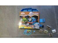 Thomas the Tank Engine wind up engine and book. From a smoke free and pet free home