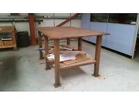 Workbench...solid steel...very heavy