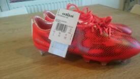 Brand new unworn addidas f50 football boots size 6.5