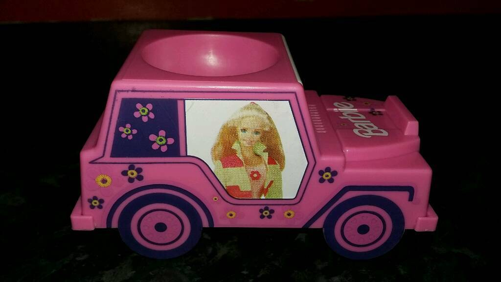 Barbie Jeep egg cup
