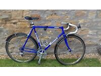 """Holdsworth road bike with Shimano 105 and 23"""" seat tube."""